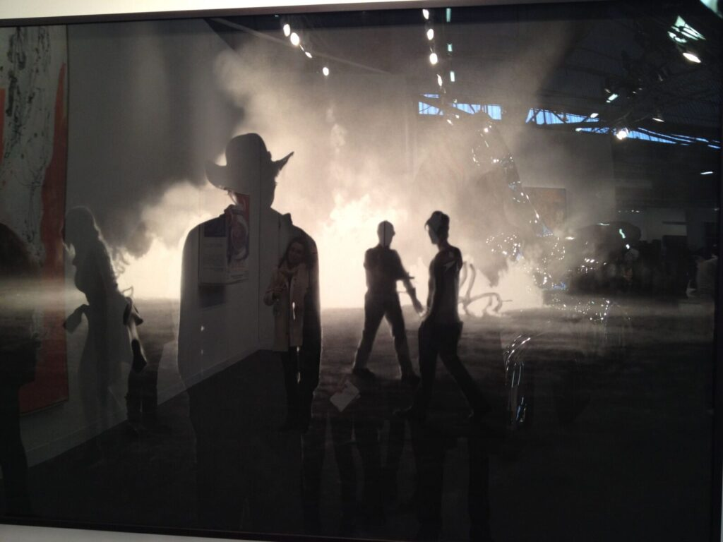Robert Longo, Untitled (Burning Man)