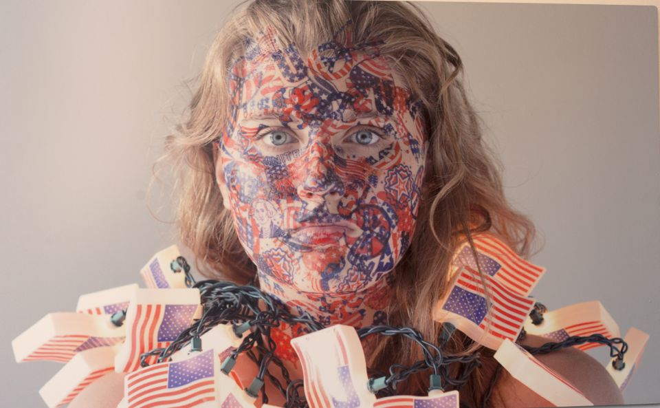 Red, White, and Blue in the Face, Melissa Vanderberg