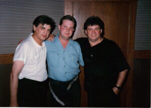 Pat with Phil and Don Everly