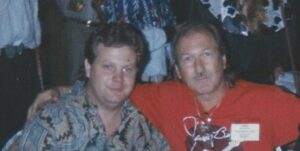 Golden with James Burton