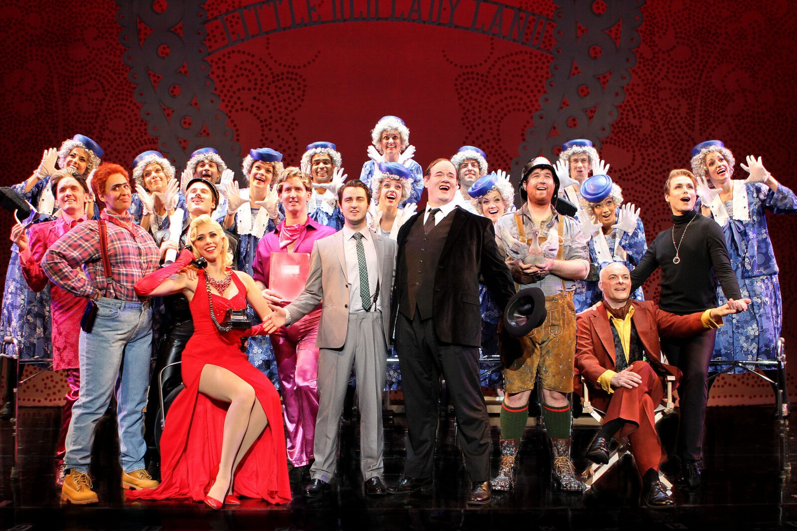 The Cast of THE PRODUCERS