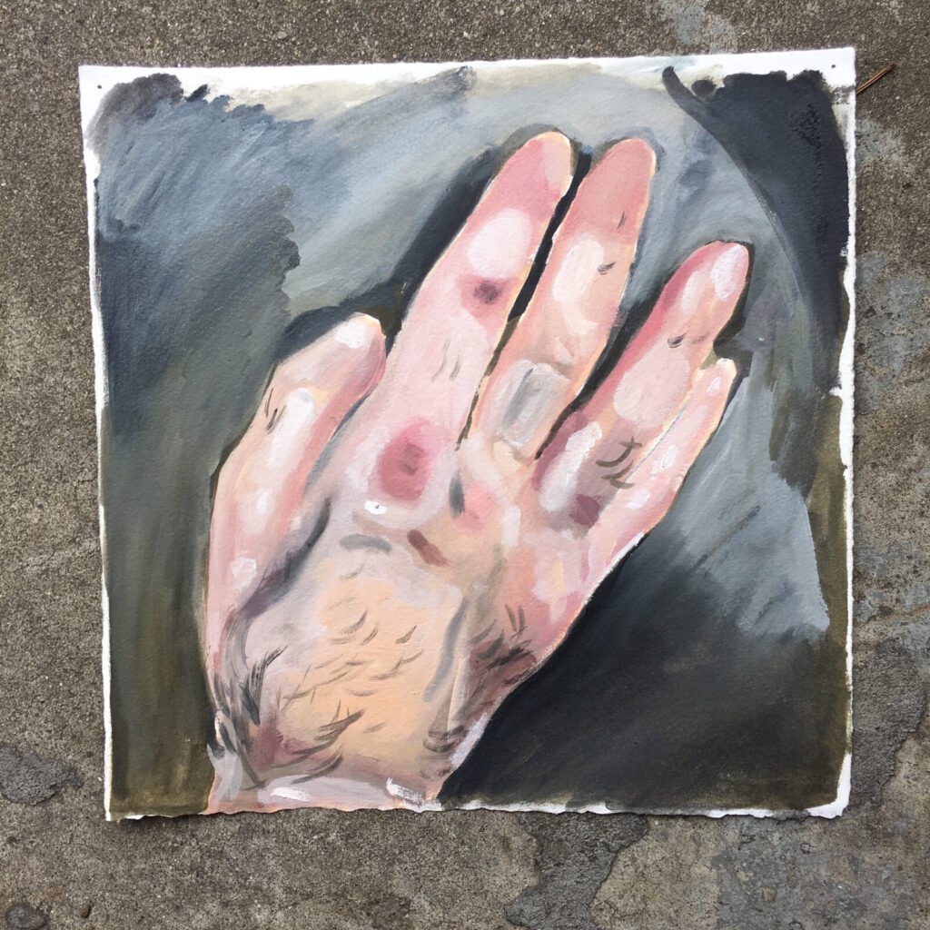 Aaron Michael Skolnick, Right Hand, 2014