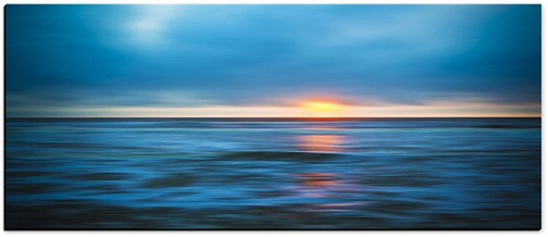 "LND&SEA #1 (Canvas 92¼"" x 39½"") Courtesy of Fine Art Editions Gallery"