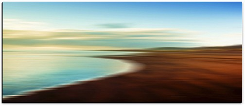 "LND&SEA #3 (Canvas 92¼"" x 39½"") Courtesy of Fine Art Editions Gallery"
