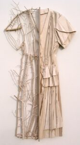 "Ron Isaacs,""Alter Ego (Waterfall), birch plywood construction prior to painting"